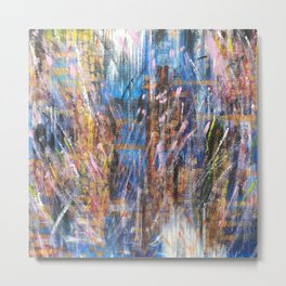 When I Think Of You Synaptic Fireworks Go Off In My Brain Metal Print