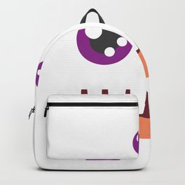 Funny Scary Monster Costume Halloween For Kids Backpack