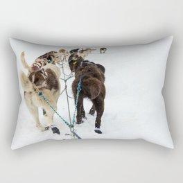 Gee!  Haw! Rectangular Pillow