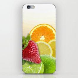 Fruit Collage iPhone Skin