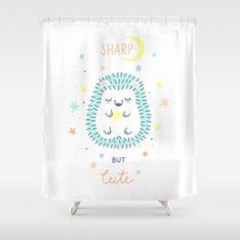 Cute Hedgehog Shower Curtain