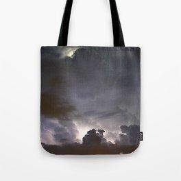 Night Explosions - V03 Tote Bag