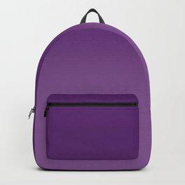 Violet Purple and Velvet Purple Ombré Gradient Abstract Backpack