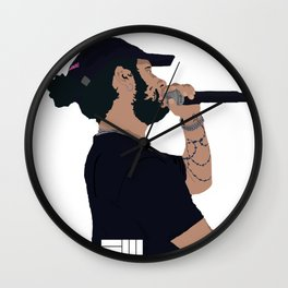 Russ Cartoon Wall Clock