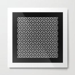 Squaredrops Metal Print