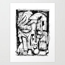 Drained - b&w Art Print