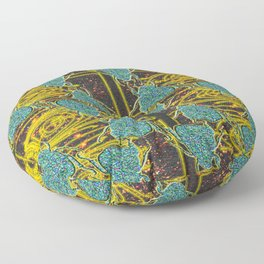 Van Allen's Scarab Floor Pillow