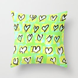 Flying Hearts ~ Change of Heart Throw Pillow