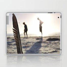 Feather on the Beach Laptop & iPad Skin