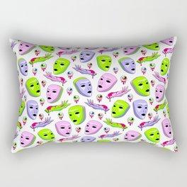 Alien Attack II Rectangular Pillow
