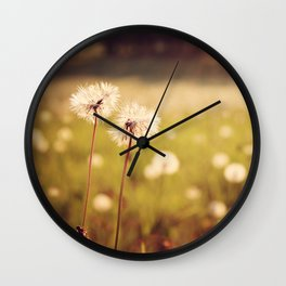 Just Us Two Wall Clock