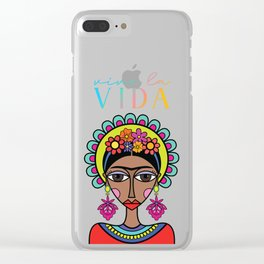 Viva la Vida! Clear iPhone Case