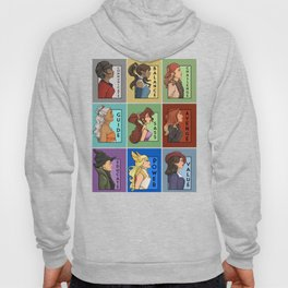 She Series Collage - Version 4 Hoody