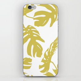 Simply Mod Yellow Palm Leaves iPhone Skin