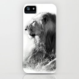Lion in the Sunshine iPhone Case