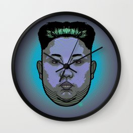 Kim Jong Un Dictator Do (series green1) Wall Clock