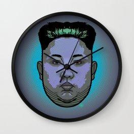 Kim Jong Un Dictator Do (series green1) Wall Clock