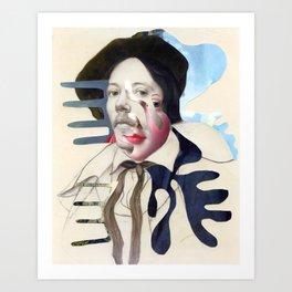 Composition 480 Art Print