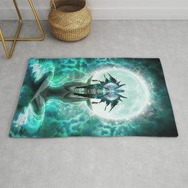 Selene - Moon Goddess - Visionary Art - Manafold Art Rug