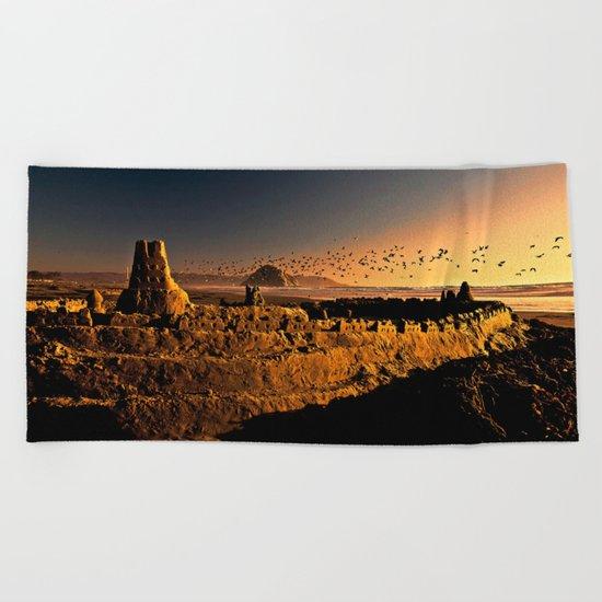 Sand Castle Beach Towel