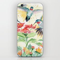 Hummingbird Party iPhone & iPod Skin