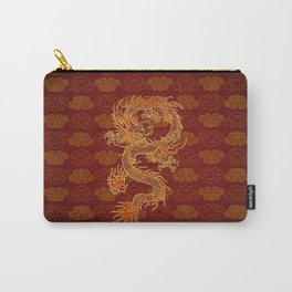 Traditional Chinese Red Dragon                                         Carry-All Pouch