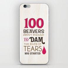 river of tears iPhone & iPod Skin