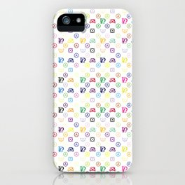 Dirty Laundry - in a Louis-V-Style - Living Hell iPhone Case
