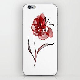 Vector Flower iPhone Skin
