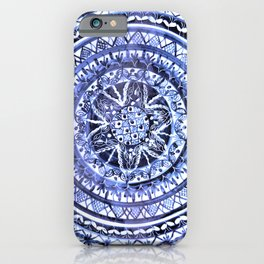 Blue and White Portuguese Porcelain Plate iPhone Case