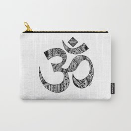 Om Zentangle Art Carry-All Pouch