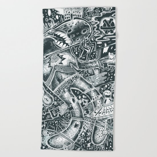 void party Beach Towel