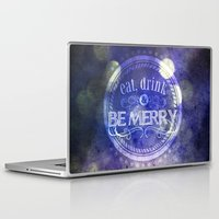 lettering Laptop & iPad Skins featuring Lettering II by Merwizaur
