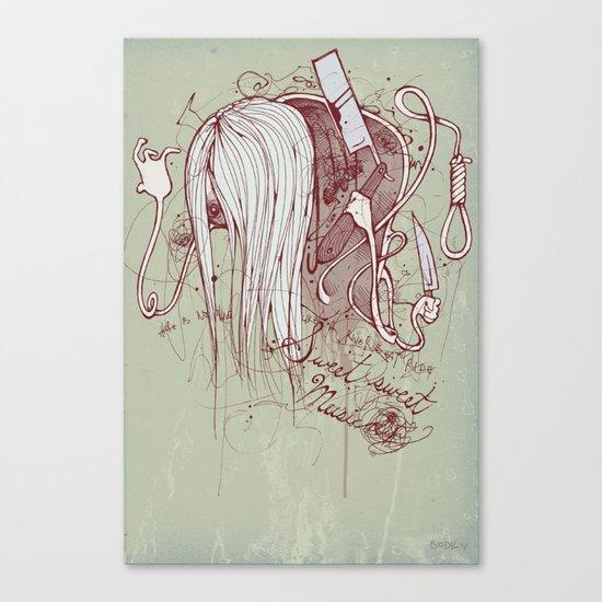 River music Canvas Print
