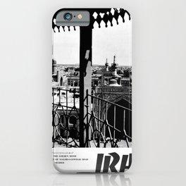 retro monochrome Persia iPhone Case