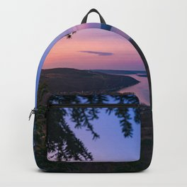 Sunset over Keuka Backpack