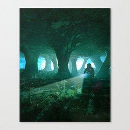BETWEEN WORLDS (everyday 08.05.18) Canvas Print