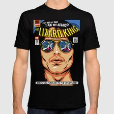The Lizard King Mens Fitted Tee Black 2X-LARGE