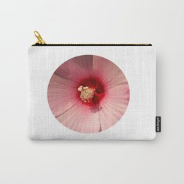 Pink Hibiscus Close-up Flower Photography Carry-All Pouch