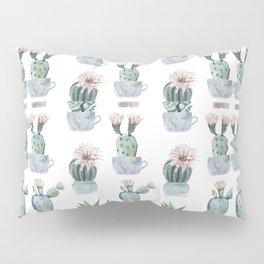 Girly Rose Cactus Pots Pillow Sham
