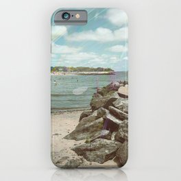 So We Went to the Beach Today iPhone Case