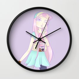 Pastel Days Wall Clock