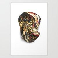 Melt.3 Art Print