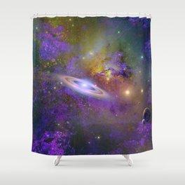 Inter-Galactic Neighborhood Shower Curtain