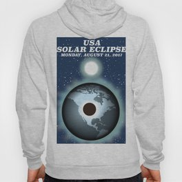 USA Solar Eclipse 2017 Hoody