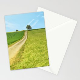 Meadow Landscape Panorama Stationery Cards