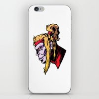xmen iPhone & iPod Skins featuring x28 by jason st paul