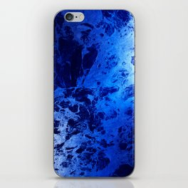 Blue Marble Dream Abstract iPhone Skin
