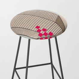 Fig 5. Primary Prism Banana Bar Stool