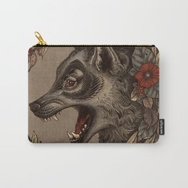 A Little Wolf Moon Carry-All Pouch